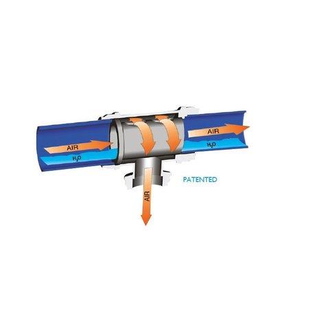 Infinity INSTEEKKOPPELING T-STUK met waterstop Ø 20 mm t/m 63 mm