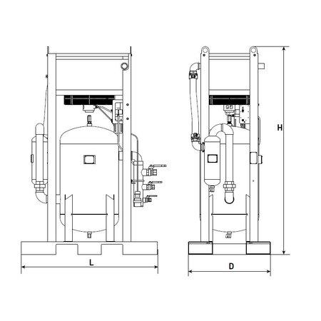 CONTRACOR Perslucht vochtafscheidingssysteem Type - MEX-E/P-2