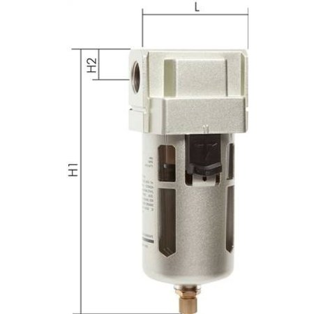 E·MC® E·MC® - ECO-LINE - FILTER UNIT - SERIES 5  - 1''