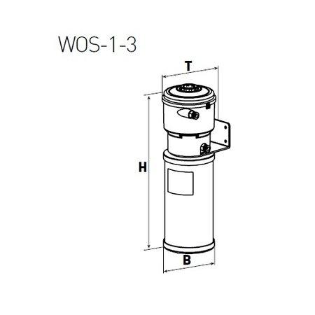 COMPRAG Olie-/waterafscheider voor condensaat WOS-1