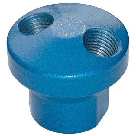 AIR-PRO AIR-PRO - Manifold - aluminium - 2 uitgangen - 1/4'' BSP female