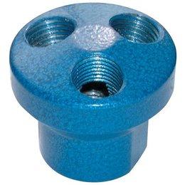 AIR-PRO AIR-PRO - Manifold - aluminium - 3 uitgangen - 1/4'' BSP female