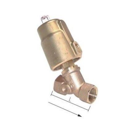 2/2 NC Pneumatische klepafsluiter | Messing