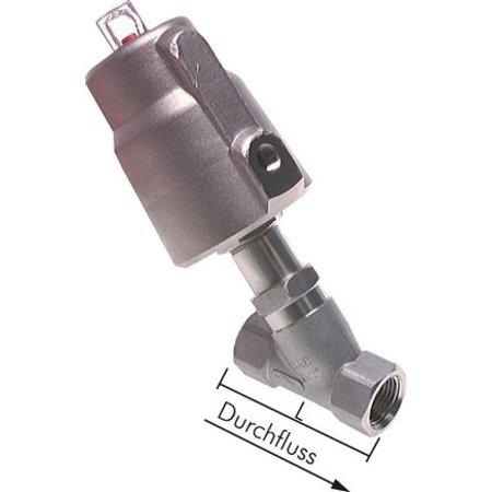 2/2 NO Pneumatische klepafsluiter | Edelstaal