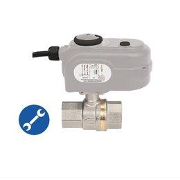 LYBRA - elektrisch bediende kogelkraan actuator - 230 VAC 20 sec