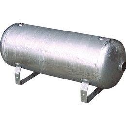 Persluchtketel verzinkt staal - liggend - 350L - 16 bar