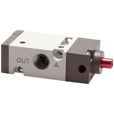 """3/2-weg pneumatisch ventiel 1/8"""" - gesloten (NC)"""