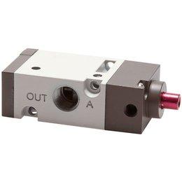 "3/2-weg pneumatisch ventiel 1/8"" - open (NO)"
