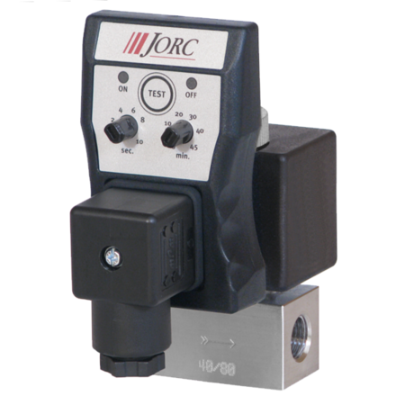 JORC Fluiddrain aftappen met RVS ventielen - 1/2'' BSP - 0-16 bar