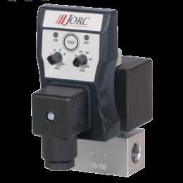 JORC Fluiddrain aftappen met RVS ventielen - 1/4'' BSP - 0-250 bar