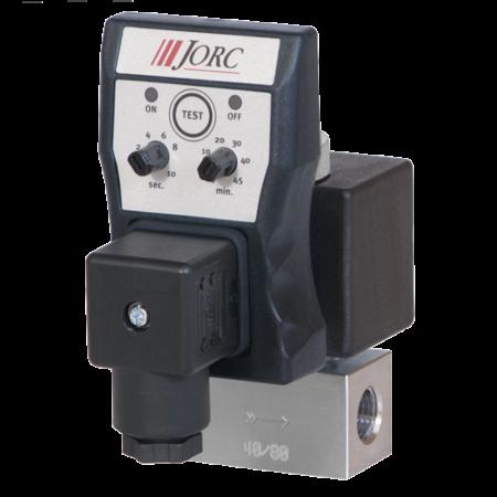 JORC Fluiddrain aftappen met RVS ventielen - 1/4'' BSP - 0-500 bar