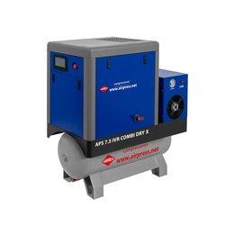 AIRPRESS Schroefcompressor APS7,5-200 IVR COMBI DRY X  690 Liter/min.