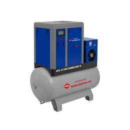 AIRPRESS Schroefcompressor APS15-500 IVR COMBI DRY X   1.410 L/min.