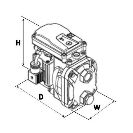 "COMPRAG Condensaatventiel Niveaugestuurd ED-30   30 m³/min - 1/2"""