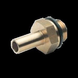 AIGNEP Inschroef steel-snijringfitting met BSPP bu-draad