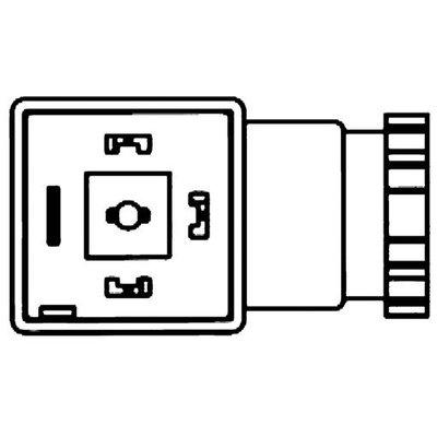 Stekkers voor spoelen magneetventielen - Serie D
