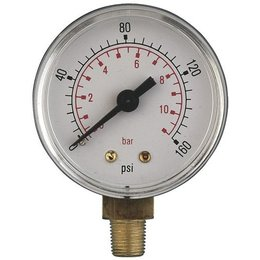 "AIR-PRO Manometers - Male 3/8"" - Ø 100 mm ABS kast"