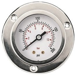 AIR-PRO Flens manometers - Ø 50 mm - 1/4""