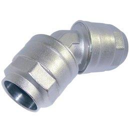 Infinity INSTEEKKOPPELING BOCHT [45°] Ø 20 mm t/m 63 mm