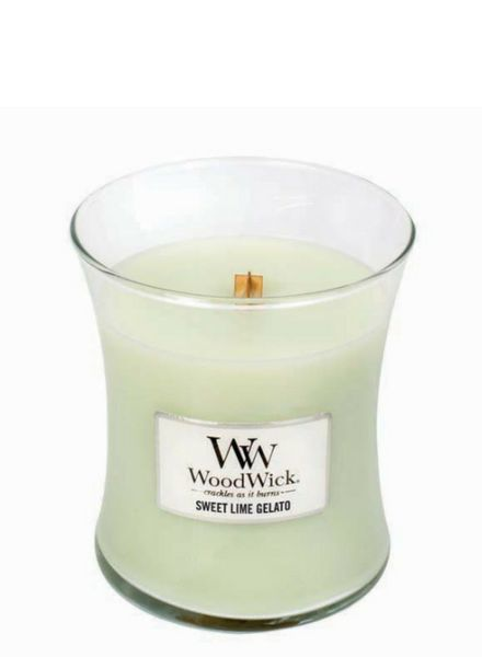 Woodwick Medium Sweet Lime Gelato