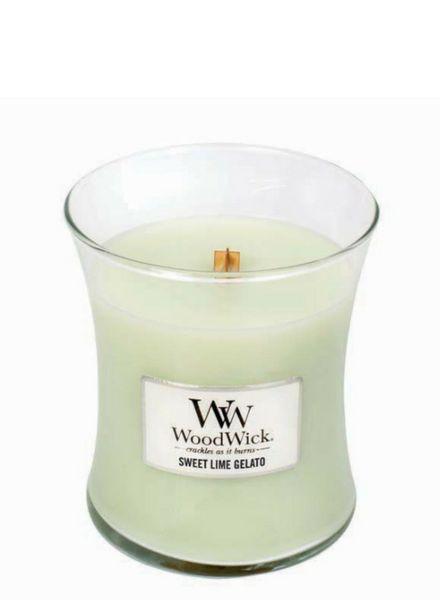 Woodwick WoodWick Medium Sweet Lime Gelato