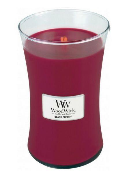 Woodwick Large Black Cherry