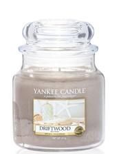 Yankee Candle Driftwood Medium Jar