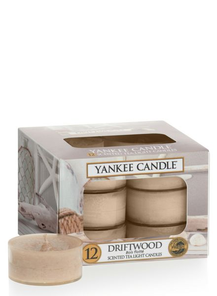 Yankee Candle Yankee Candle Driftwood Theelichten