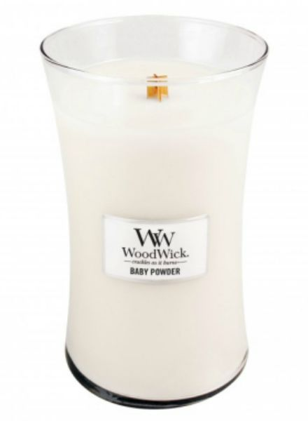 Woodwick WoodWick Baby Powder Large Candle