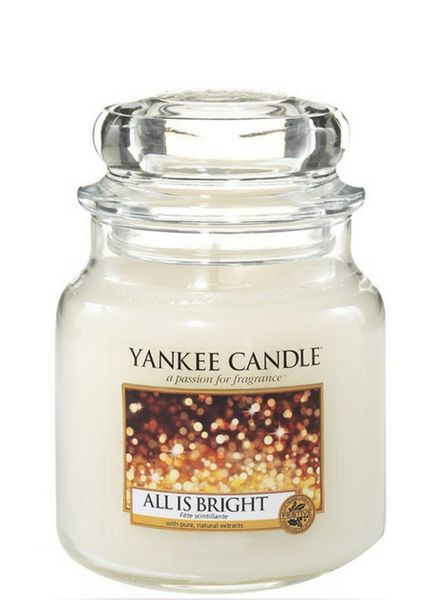 Yankee Candle All Is Bright Medium Jar
