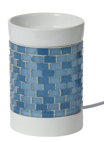Yankee Candle Tartwarmer Elektrisch Glitter Glow Light Blue
