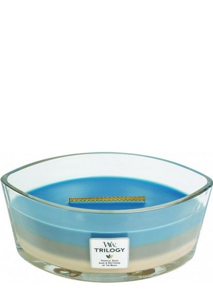 Woodwick WoodWick Nautical Escape Ellipse Trilogy