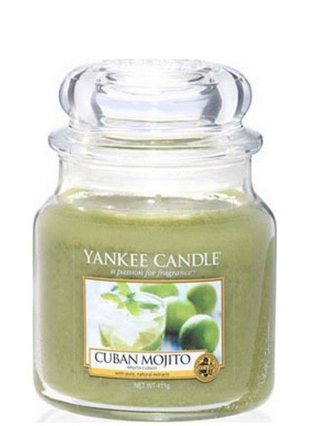 Yankee Candle Cuban Mojito Medium Jar