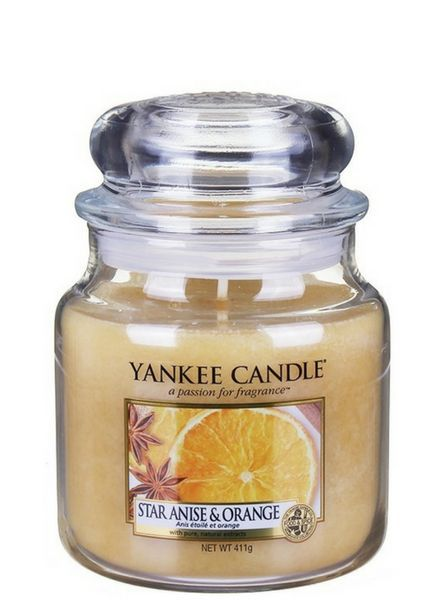 Yankee Candle Yankee Candle Star Anise & Orange Medium Jar