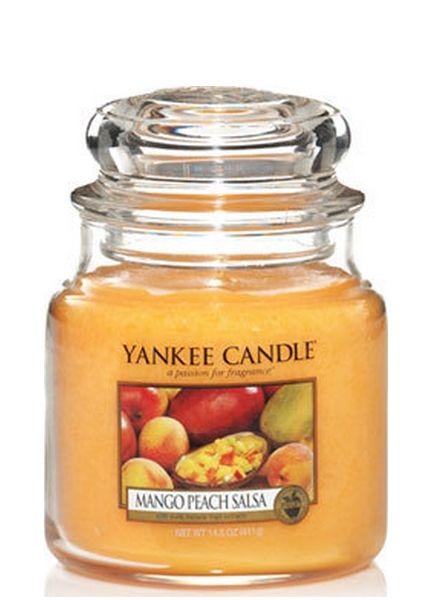 Yankee Candle Yankee Candle Mango Peach Salsa Medium Jar