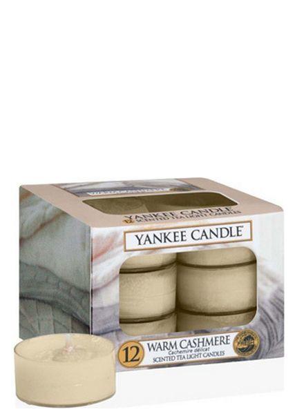 Yankee Candle Warm Cashmere Theelichten