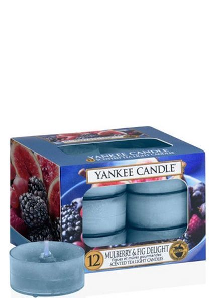 Yankee Candle Mulberry & Fig Delight Theelichten