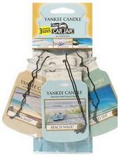 Yankee Candle Car Jar Beach Vacation 3 pack