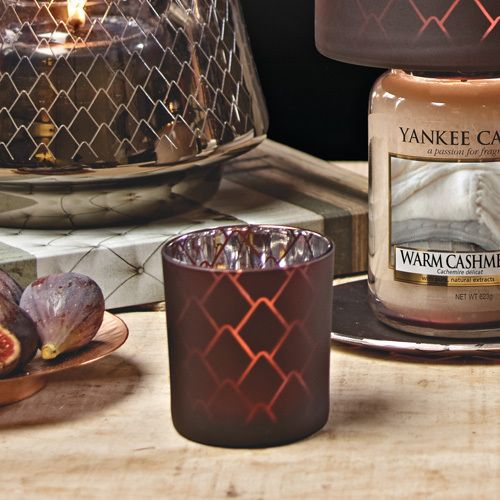 Yankee Candle Yankee Candle Pine Cone Purple Votievehouder