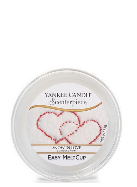 Yankee Candle Snow in Love Melt Cup