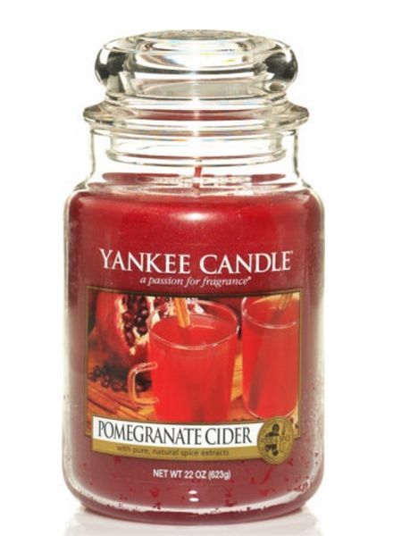 Yankee Candle Pomegranate Cider Large Jar