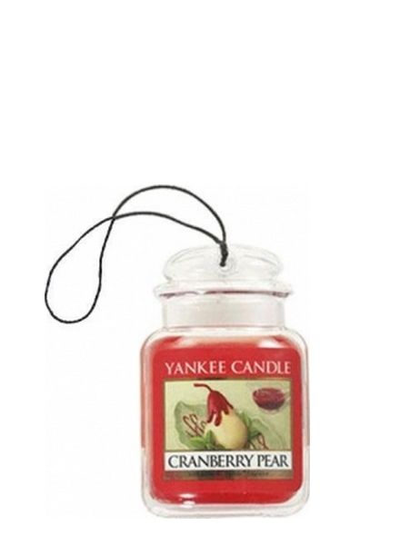 Yankee Candle Yankee Candle Car Jar Ultimate Cranberry Pear