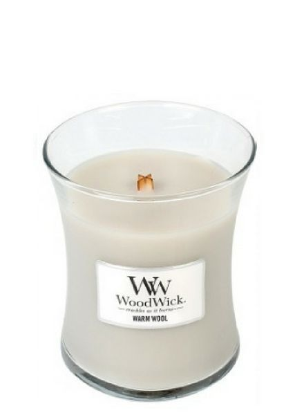 Woodwick Medium Warm Wool