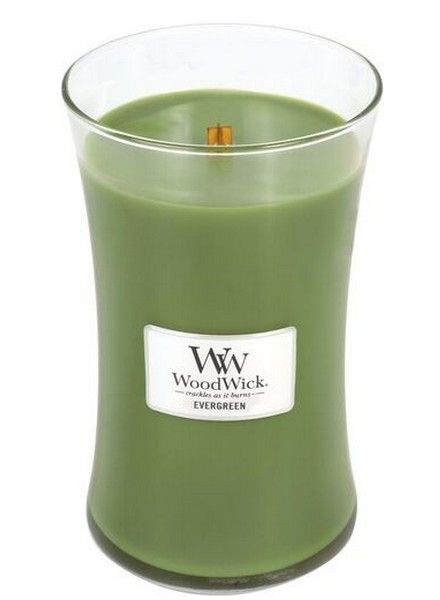 Woodwick WoodWick Large Candle Evergreen