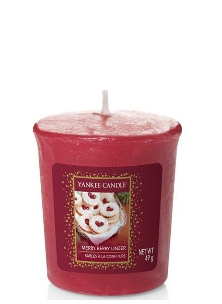 Yankee Candle Merry Berry Linzer Votive