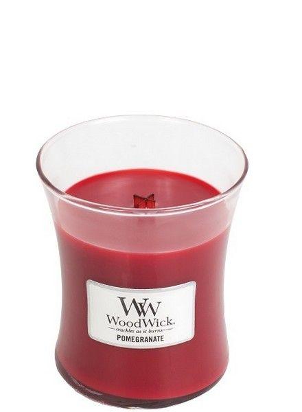 Woodwick WoodWick Medium Candle Pomegranate