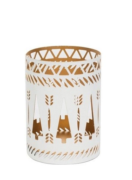 Woodwick WoodWick Petite Candle Holder White Trees