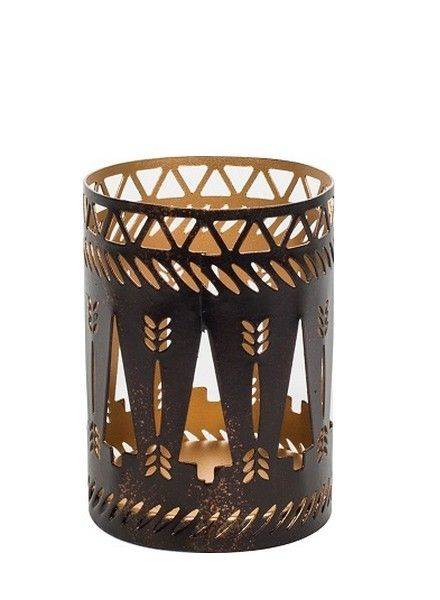 Woodwick WoodWick Petite Candle Holder Bronze Trees