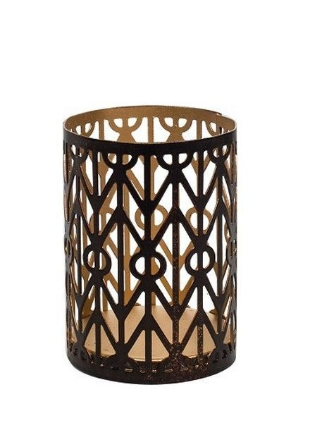 Woodwick Woodwick Petite Candle Holder Geometric