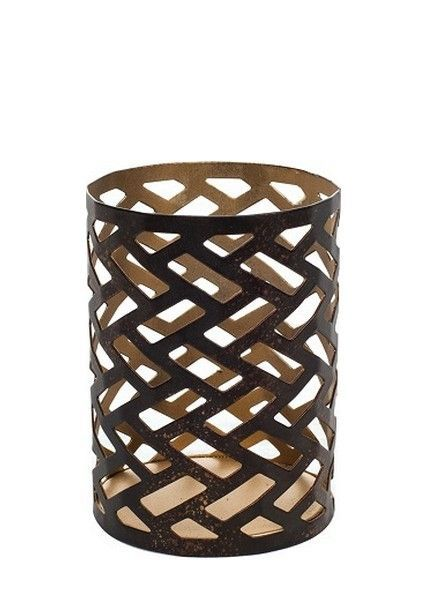 Woodwick Woodwick Petite Candle Holder Herringbone